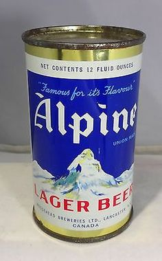 Alpine Lager Beer ,  ( Canadian ) F.T