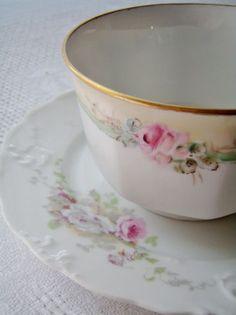 2x conjunto de taza de té chino motivo floral Duo