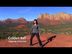 As with any exercise program please consult a licensed physician before starting. Golden Ball Qigong Exercise This exercise helps to develop your sensitivity. Qi Gong, Qigong Meditation, Meditation Youtube, Meditation Music, Medical Qigong, Tai Chi Moves, Tai Chi Exercise, Tai Chi For Beginners, Tai Chi Qigong