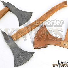 """Knives Exporter New Custom 20"""" Damascus Best Bearded Felling Hatchet / Axe  #Knivesexporter"""