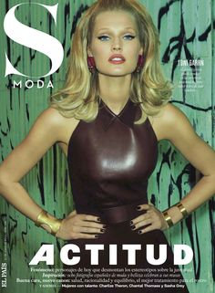 Valley of the Dolls meets Urban Jungle as Toni Garrn cops an Actitud in 'Juego De Contrastes' by Henrique Gendre for S Moda El Pais, 06/14