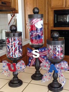 30 Awesome Fourth of July decorations ideas to DIY this Patriotic Day - Hike n Dip Fourth Of July Decor, 4th Of July Celebration, 4th Of July Decorations, 4th Of July Party, July 4th, Holiday Decorations, Birthday Decorations, Holiday Ideas, Patriotic Crafts