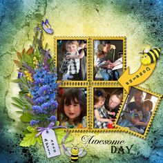 """**NEW** """"The Bee and The Bear"""" by Louise L Available @ Digiscrapbooking ch: www.digiscrapbooking.ch My Memories: www.mymemories.com E Scrap en scrap: www.e-scapeandscrap.net Paradise Scrap: www.digi-boutik.com Scrap from France: scrapfromfrance.fr Wilma4Ever: www.wilma4ever.com  Personal photos used."""