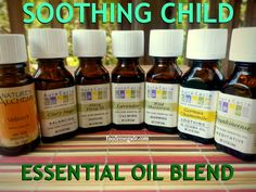 Soothing Child Essential Oil Blend -- Perfect way to calm the high strung child! #health #eo