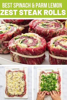 Pancakes bowl with raspberry compote - Healthy Food Mom Flank Steak Rolls, Flank Steak Recipes, Meat Recipes, Dinner Recipes, Cooking Recipes, Healthy Recipes, Game Recipes, Stuffed Steak Rolls, Stuffed Flank Steak