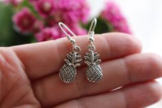 Cute tiny pineapple earrings  by Gallagher's Boutique