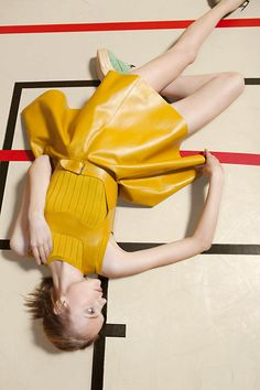 Carven print ad | Photographer: Viviane Sassen