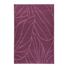 LÄBORG Rug, low pile, lilac