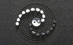 yin and yang spiral