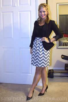 This girl's blog has lots of cute outfits, and most of her stuff comes from Target, Forever 21, Payless, TJ Maxx and other cheap places