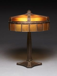 Stickley Six Light Electric Lamp--not sure if it qualifies as Nouveau, but I still like it.
