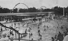 Springlake Amusement Park ~ NE Oklahoma City Travel Oklahoma, Oklahoma City, Spring Lake, Old Images, Historical Photos, Great Places, Paris Skyline, Scenery, Tornadoes