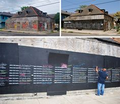 Before I Die: Lively Interactive Street Art Stencil
