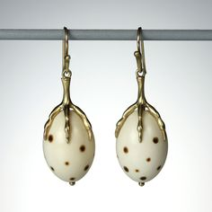 Quadrum - Egg with Claw Earrings