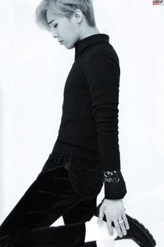MAGAZINE) BIGBANG [GQ KOREA 08] scanned by criticalshot. Oh my god he looks like taehyun!!!!!!!!!