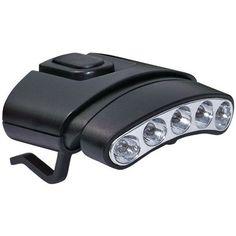 CYCLOPS CYC-HCDT-WG 30-Lumen Tilt(R) 5-LED Hat Clip Light (Regular)