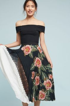 Clea Pleated Skirt