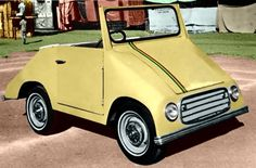 Raghavaiah Electric Car 1960