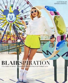 Headband inspired by It's a Kind of Magic in Cosmopolitan Australia September 2014