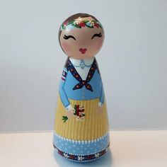 Love Box, Custom Wedding Cake Toppers, Kokeshi Dolls, Birthday Cake Toppers, Doll Crafts, Denmark, Danish, My Etsy Shop, Boxes