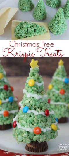 Easy Christmas Tree Treats Recipe!