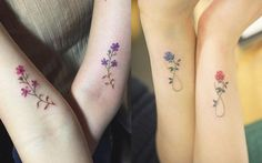 15 Matching BFF Tattoos That Are Better Than A Friendship Necklace - Group Tattoos, Dreieckiges Tattoos, Neue Tattoos, Arrow Tattoos, Trendy Tattoos, Temporary Tattoos, White Tattoos, Word Tattoos, Small Foot Tattoos