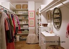 Organizing a Closet by Using What You Already Own