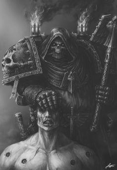 Dark Angels Interrogator Chaplain
