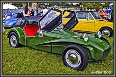 1961 Lotus Super Seven   View this in B l a c k M a g i c   Flickr