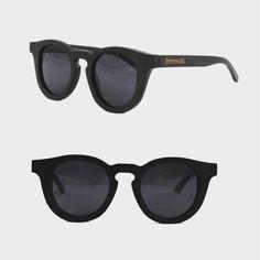 Holz Sonnenbrille für Frauen 'Lille' von Bewoodz #Holzsonnenbrille #Bambussonnenbrille #Sonnenbrille