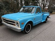 1968 Chevrolet C-10 outhern Truck : Barn Find : 350 Engine : Automatic : Wood Bed : Big Back Window