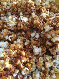 Homemade Karamel Popcorn