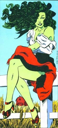 The Best Comic Book Panels — She-Hulk 45 by John Byrne Marvel Comics, Hulk Marvel, Fun Comics, Marvel Art, Avengers, Comic Book Artists, Comic Book Characters, Comic Artist, Marvel Characters