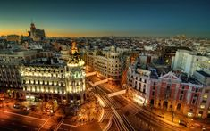 Madrid, Spain | These are the 14 best places to visit in Europe in February.