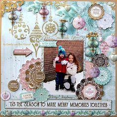 Making Memories {Kaisercraft & Merly Impressions}