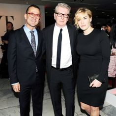 NYFW - Steven Kolb, George Sharp, Kate Winslet at CFDA 50 Anniversary Party