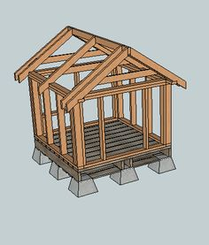 Dog house plans free | HowToSpecialist - How to Build, Step by ...