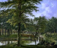 Wybrand Hendriks - View of the New Canal in Haarlem