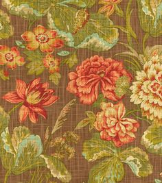Upholstery Fabric-Waverly Sonnet Sublime Vintage