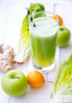 The Great Cleanser Green Juice Recipe via Linda Wagner. You will love the way this cleansing juice makes you feel! It's a great way to get the body back on track and feeling great!!
