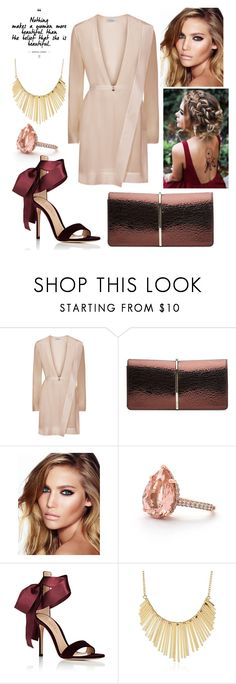 """""""#6"""" by mariangela06 ❤ liked on Polyvore featuring La Perla, Nina Ricci, Charlotte Tilbury, Gianvito Rossi and WithChic"""