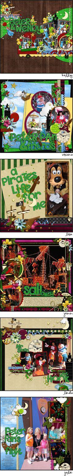 several Disney Trip layouts