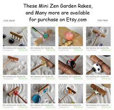Customized Zen Garden Rakes