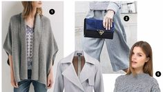 #Mode : Le top 5 shopping spécial gris, couleur phare de l'automne-hiver 2015-2016 >> http://www.taaora.fr/blog/post/couleur-automne-hiver-2015-2016-le-gris-les-must-have