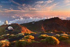 Amanecer en el Roque de los Muchachos, Isla de La Palma. Canarias. Saul Santos Diaz - fotógrafo Canario, Photo And Video, Mountains, Instagram, Nature, Travel, Saints, Las Palmas, Canary Islands