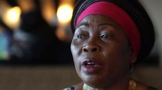 Gcina Mhlope is a traditional storyteller who narrates her tales in four South African languages.