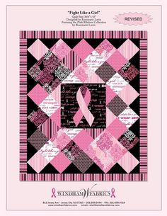 Fight Like A Girl Quilt Pattern (free)