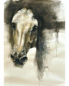 """Saatchi Online Artist Benedicte Gele; Drawing, """"Alerte VII"""" #art"""