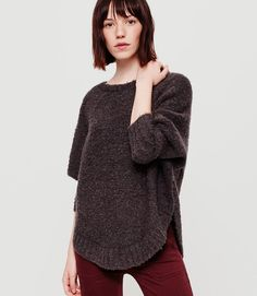 Primary Image of Lou & Grey Boucle Poncho