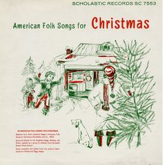 Album Cover Tuesday! A serene wooded setting is the backdrop for this collection by Ruth Crawford Seeger selected and performed by her daughters Peggy, Barbara and Penny, and with children from the South Boston Music School. #AlbumCoverTuesday #Folkways